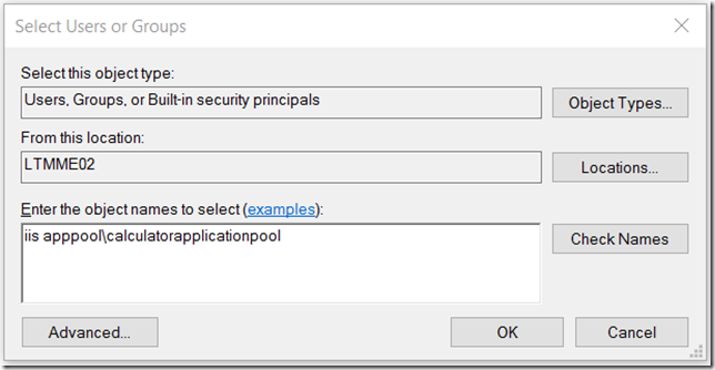 NET Power Tip 12: Setting IIS Application Pools on Windows